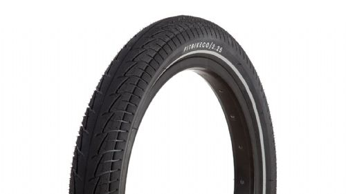 "FIT 16"" Tyre 2.25"" Black with Night Vison Strip"